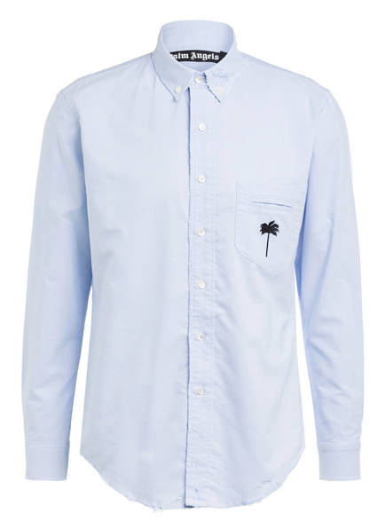 Palm Angels Oxfordhemd Regular Fit, Farbe: LIGHT BLUE (Bild 1)