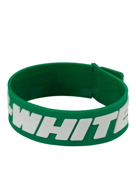 OFF-WHITE Armband 2.0 INDUSTRIAL, Farbe: GRÜN (Bild 1)
