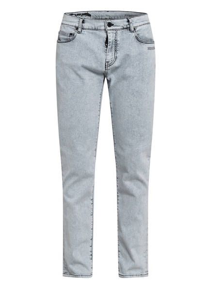 OFF-WHITE Jeans Skinny Fit, Farbe: LIGHT GREY WASHED BLACK (Bild 1)