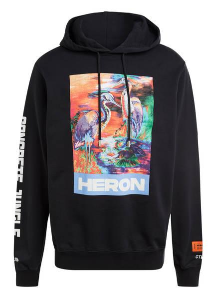 HERON PRESTON Hoodie, Farbe: SCHWARZ (Bild 1)