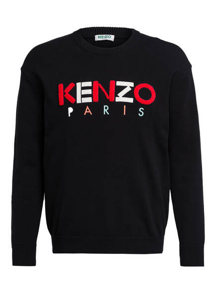 KENZO Pullover KENZO PARIS, Farbe: SCHWARZ (Bild 1)