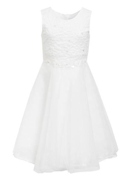 happy girls Kleid mit Perlenbesatz, Farbe: WEISS (Bild 1)