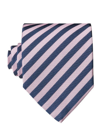 HUGO Krawatte, Farbe: ROSE/ DUNKELBLAU (Bild 1)