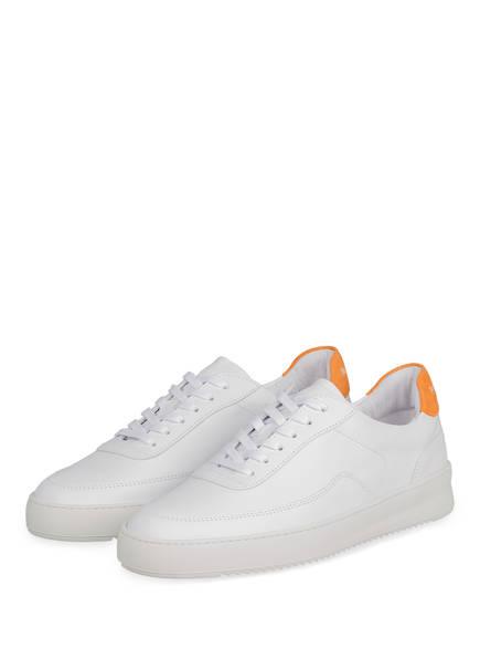 FILLING PIECES Sneaker MONDO 2.0, Farbe: WEISS/ ORANGE (Bild 1)