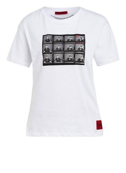 HUGO T-Shirt, Farbe: WEISS (Bild 1)