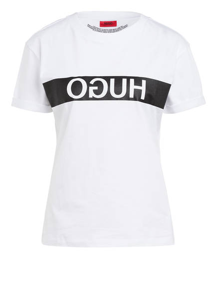 HUGO T-Shirt DATINA, Farbe: WEISS (Bild 1)