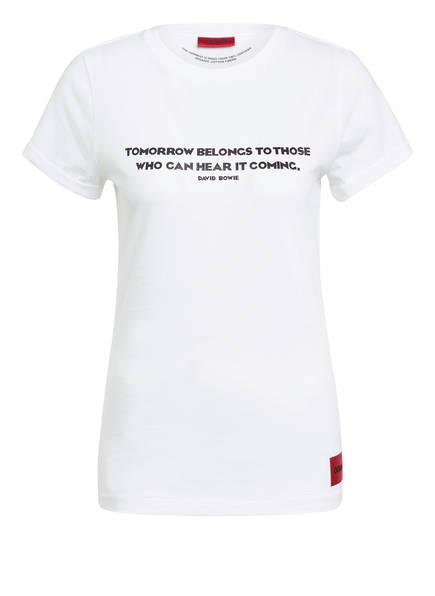 HUGO T-Shirt DENNA, Farbe: WEISS (Bild 1)