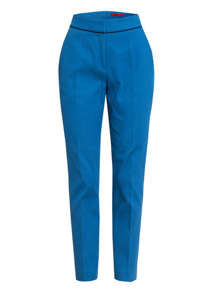 HUGO Hose THE CROPPED TROUSERS, Farbe: BLAU (Bild 1)