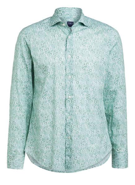 FEDELI Hemd SEAN Slim Fit, Farbe: GREEN (Bild 1)