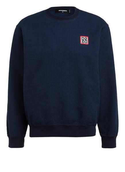 DSQUARED2 Sweatshirt SUPERNEGATIVE , Farbe: BLAU (Bild 1)