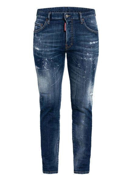 DSQUARED2 Destroyed Jeans SKATER, Farbe: 470 BLUE (Bild 1)