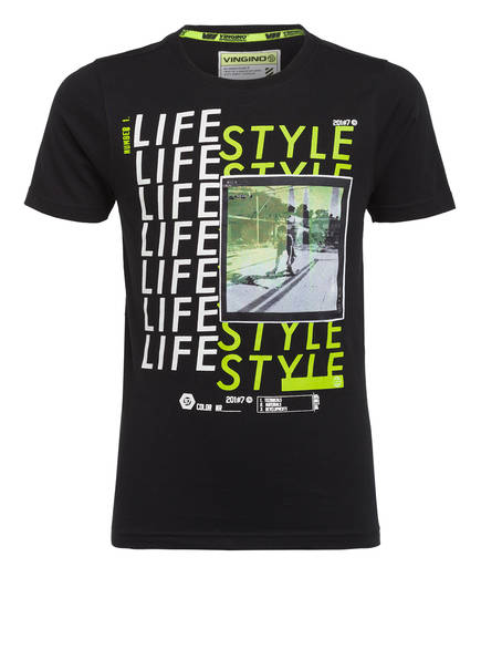 VINGINO T-Shirt HEFFIE, Farbe: SCHWARZ (Bild 1)