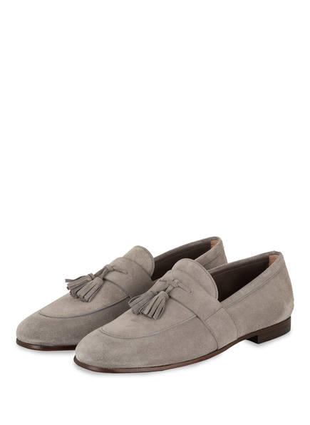 BOSS Loafer SOHO, Farbe: GRAU (Bild 1)