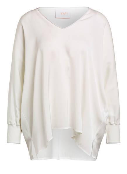 IVI collection Blusenshirt SOLID SILK aus Seide, Farbe: WEISS (Bild 1)