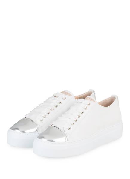 AGL Plateau-Sneaker , Farbe: SILBER/ WEISS (Bild 1)