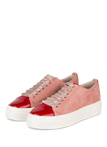 AGL ATTILIO GIUSTI LEOMBRUNI Plateau-Sneaker, Farbe: ROSÉ/ ROT (Bild 1)