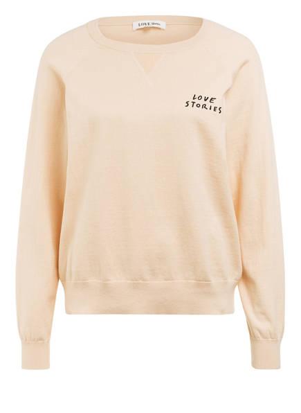 LOVE Stories Lounge-Shirt JERRY, Farbe: BEIGE (Bild 1)