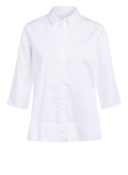 lilienfels Bluse mit 3/4-Arm, Farbe: WEISS (Bild 1)