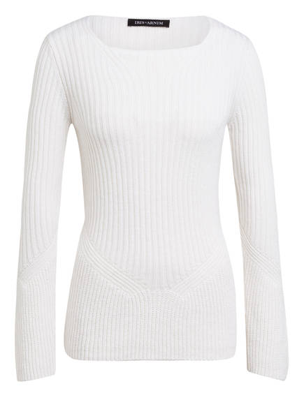 IRIS von ARNIM Cashmere-Pullover AMBROSIA, Farbe: WEISS (Bild 1)