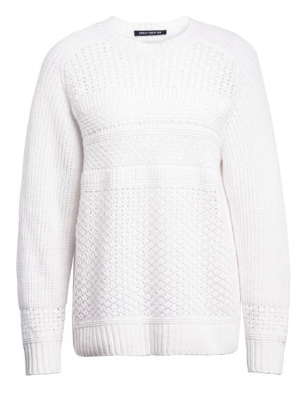 IRIS von ARNIM Cashmere-Pullover ALTIHA, Farbe: WEISS (Bild 1)