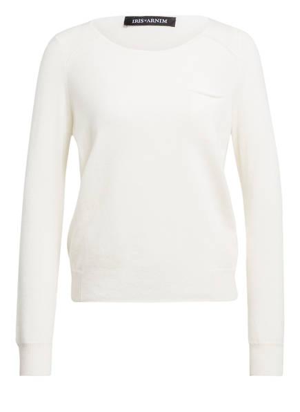 IRIS von ARNIM Cashmere-Pullover JESSE, Farbe: WEISS (Bild 1)