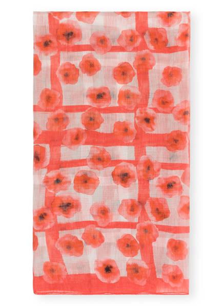 IRIS von ARNIM Tuch TULA mit Leinen, Farbe: ROT (Bild 1)