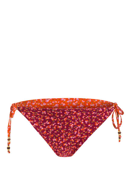 BANANA MOON COUTURE Bikini-Hose AENA MIRASSA zum Wenden, Farbe: BORDEAUX/ ORANGE (Bild 1)