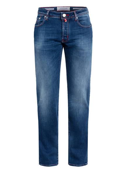 JACOB COHEN Jeans J688 Slim Fit , Farbe: W1-001 MITTELBLAU (Bild 1)