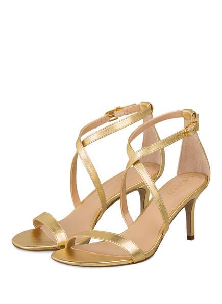 LAUREN RALPH LAUREN Sandaletten, Farbe: GOLD METALLIC (Bild 1)
