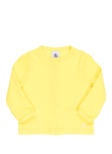 PETIT BATEAU Sweatjacke, Farbe: GELB (Bild 1)