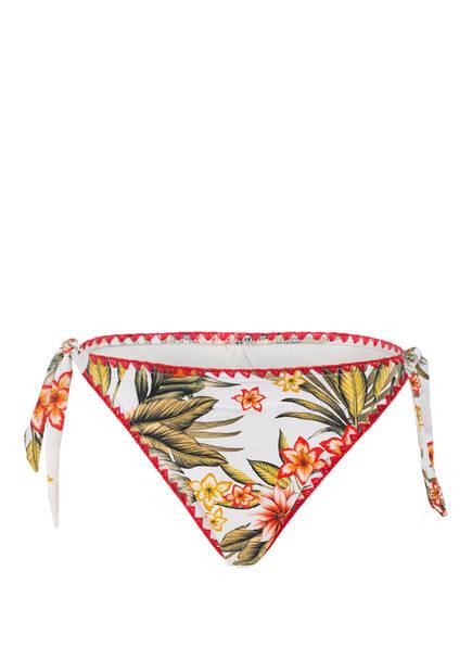BANANA MOON Bikini-Hose DIMKA LAHAINA, Farbe: ECRU/ GRÜN/ ROT (Bild 1)