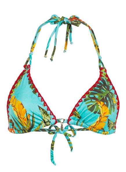 BANANA MOON Triangel-Bikini-Top NUCO BANANAS , Farbe: MINT/ GELB/ GRÜN (Bild 1)