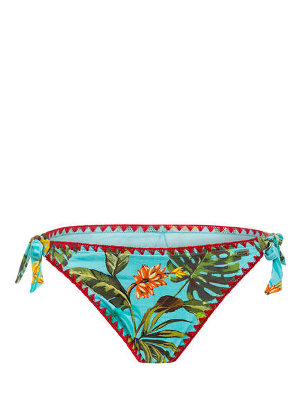 BANANA MOON Bikini-Hose DIMKA BANANAS, Farbe: HELLBLAU/ GRÜN/ GELB (Bild 1)