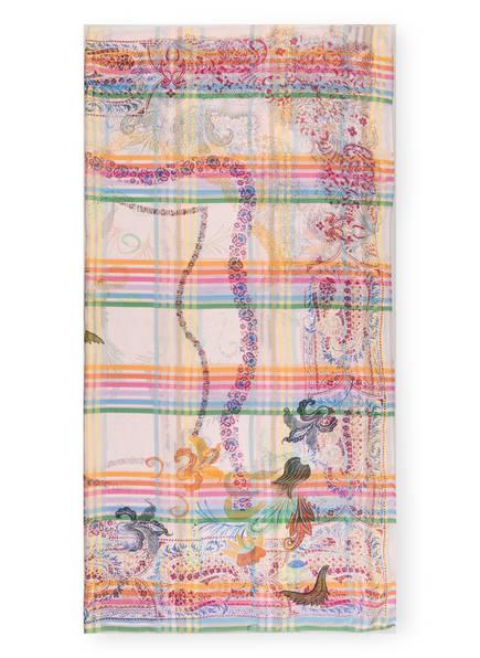 ETRO Seidentuch, Farbe: ROSA/ ORANGE/ GRÜN (Bild 1)