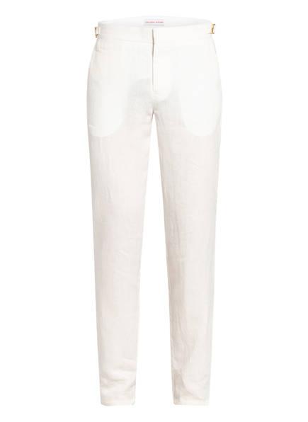 ORLEBAR BROWN Leinenhose GRIFFON X Tailored Fit, Farbe: WEISS (Bild 1)