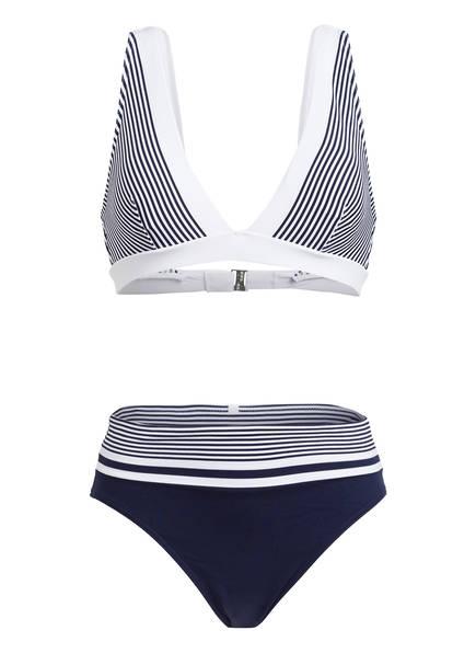 IODUS Triangel-Bikini LEZAKA, Farbe: DUNKELBLAU/ WEISS (Bild 1)
