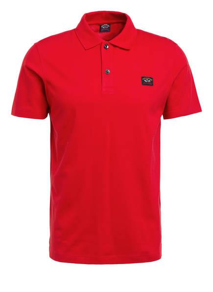 PAUL & SHARK Piqué-Poloshirt, Farbe: ROT (Bild 1)