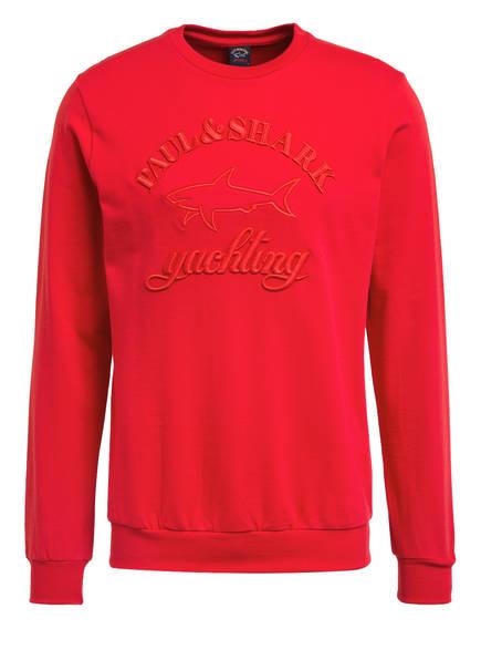 PAUL & SHARK Sweatshirt, Farbe: ROT (Bild 1)