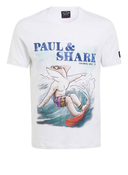 PAUL & SHARK T-Shirt, Farbe: WEISS (Bild 1)