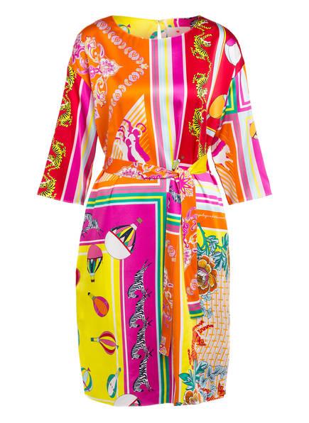 herzensangelegenheit Seidenkleid , Farbe: ORANGE/ ROT/ GELB (Bild 1)