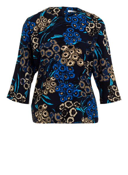 BOSS Shirt IJOMA mit 3/4-Arm, Farbe: DUNKELBLAU/ BLAU/ TAUPE (Bild 1)