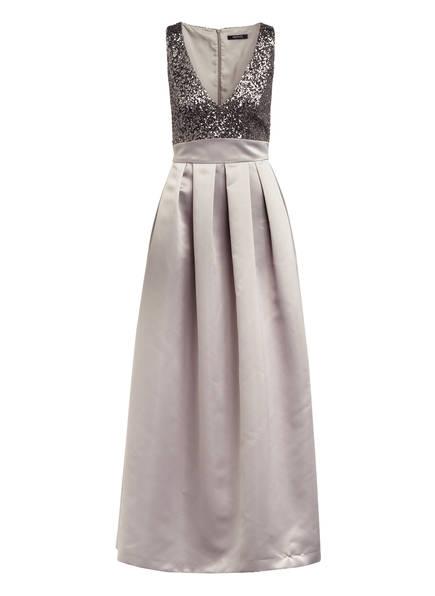 SWING Abendkleid mit Paillettenbesatz, Farbe: TAUPE (Bild 1)