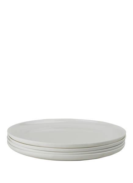 SERAX 4er-Set Speiseteller BASE, Farbe: CREME (Bild 1)