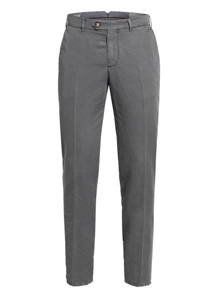 BRUNELLO CUCINELLI Chino Extra Slim Fit mit Leinen, Farbe: GRAU (Bild 1)