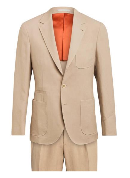 BRUNELLO CUCINELLI Leinenanzug Slim Fit, Farbe: BEIGE (Bild 1)