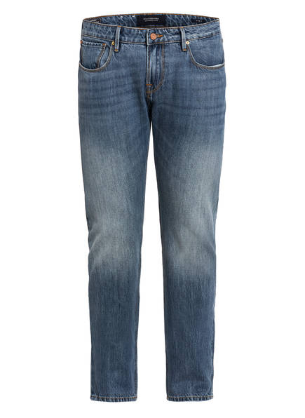 SCOTCH & SODA Jeans Slim Carrot Fit, Farbe: 3420 FACTORY STAMP BLUE (Bild 1)