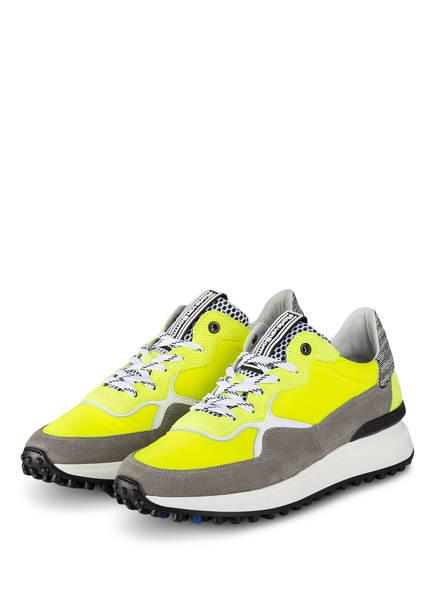 Floris van Bommel Sneaker, Farbe: NEONGELB/ GRAU (Bild 1)