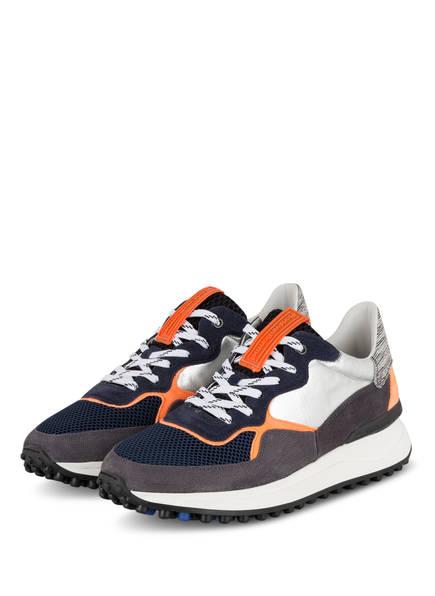 Floris van Bommel Sneaker, Farbe: DUNKELBLAU/ GRAU/ WEISS (Bild 1)