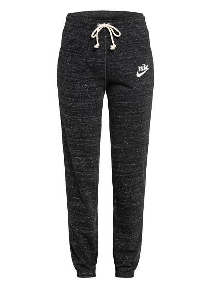 Nike Fitnesshose SPORTSWEAR GYM VINTAGE, Farbe: SCHWARZ MELIERT (Bild 1)