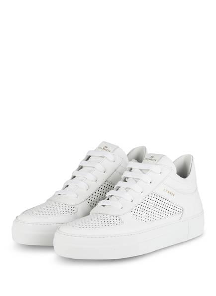 COPENHAGEN Plateau-Sneaker, Farbe: WEISS (Bild 1)